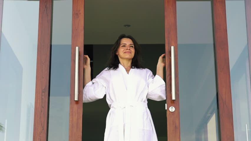 lauko durys moterims